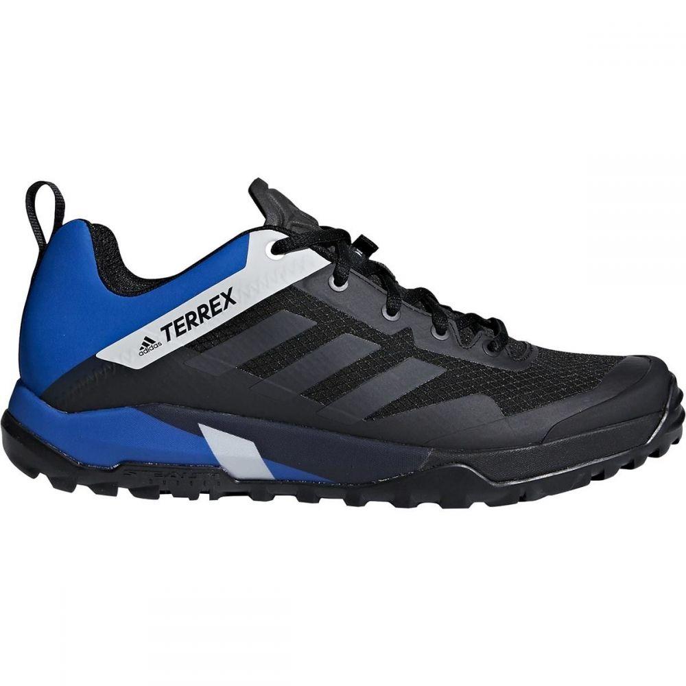 アディダス メンズ 自転車 シューズ・靴【Terrex Trail Cross SL Mountain Bike Shoes】Black/Carbon/Blue Beauty