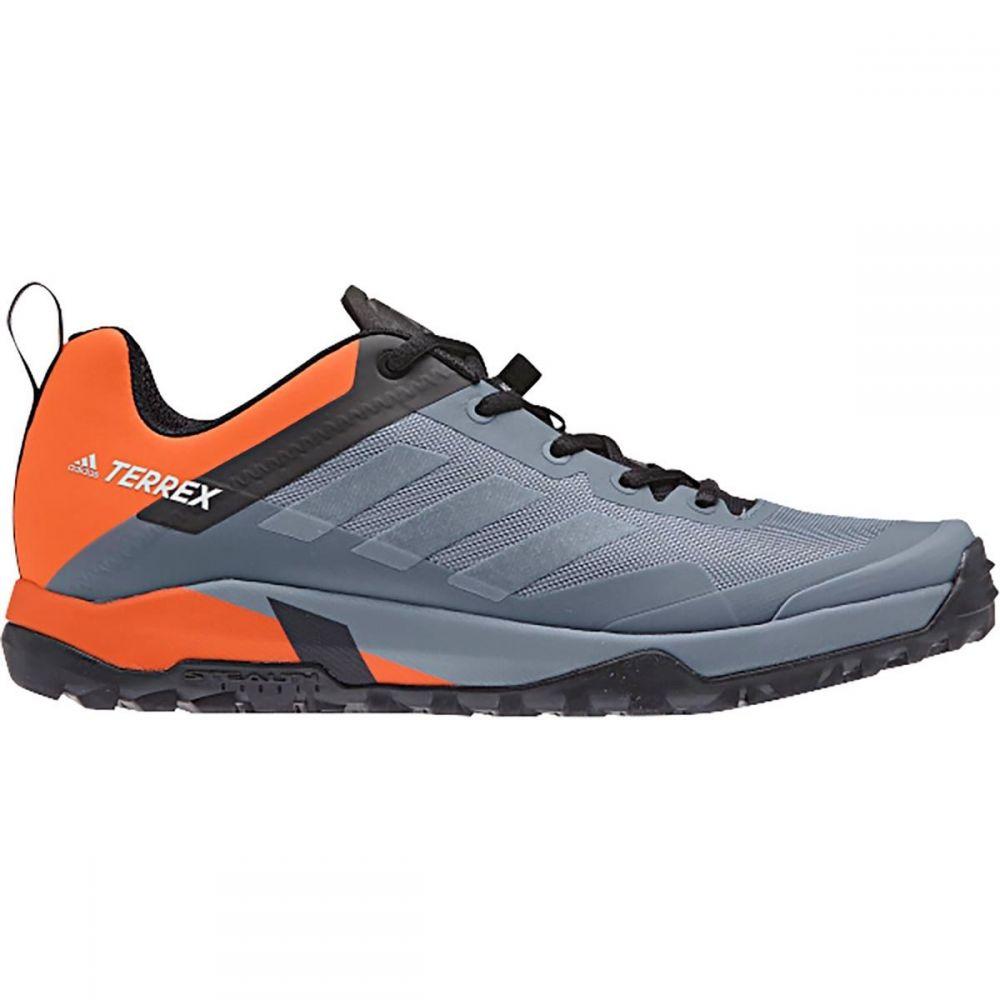 アディダス メンズ 自転車 シューズ・靴【Terrex Trail Cross SL Mountain Bike Shoes】Raw Steel/Grey One/Orange