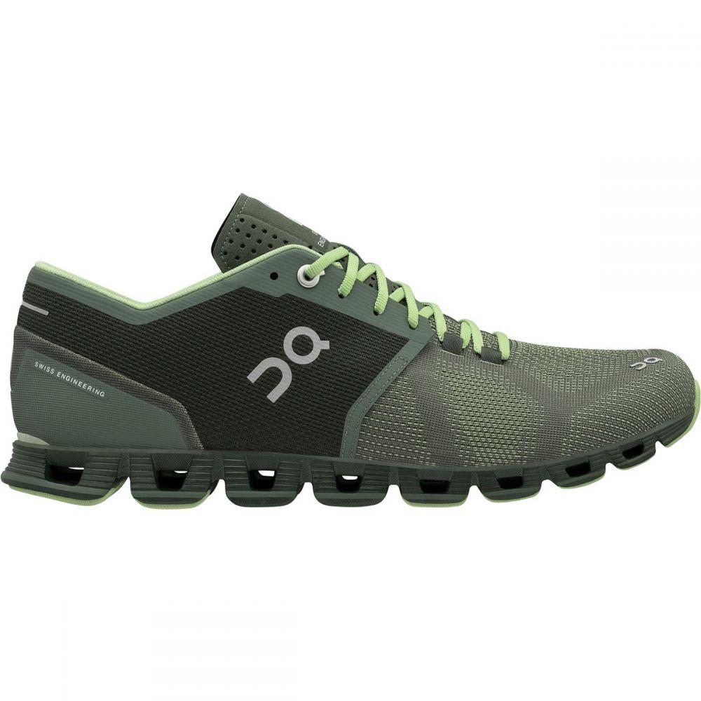 オン メンズ ランニング・ウォーキング シューズ・靴【Cloud X Running Shoes】Forest/Jungle