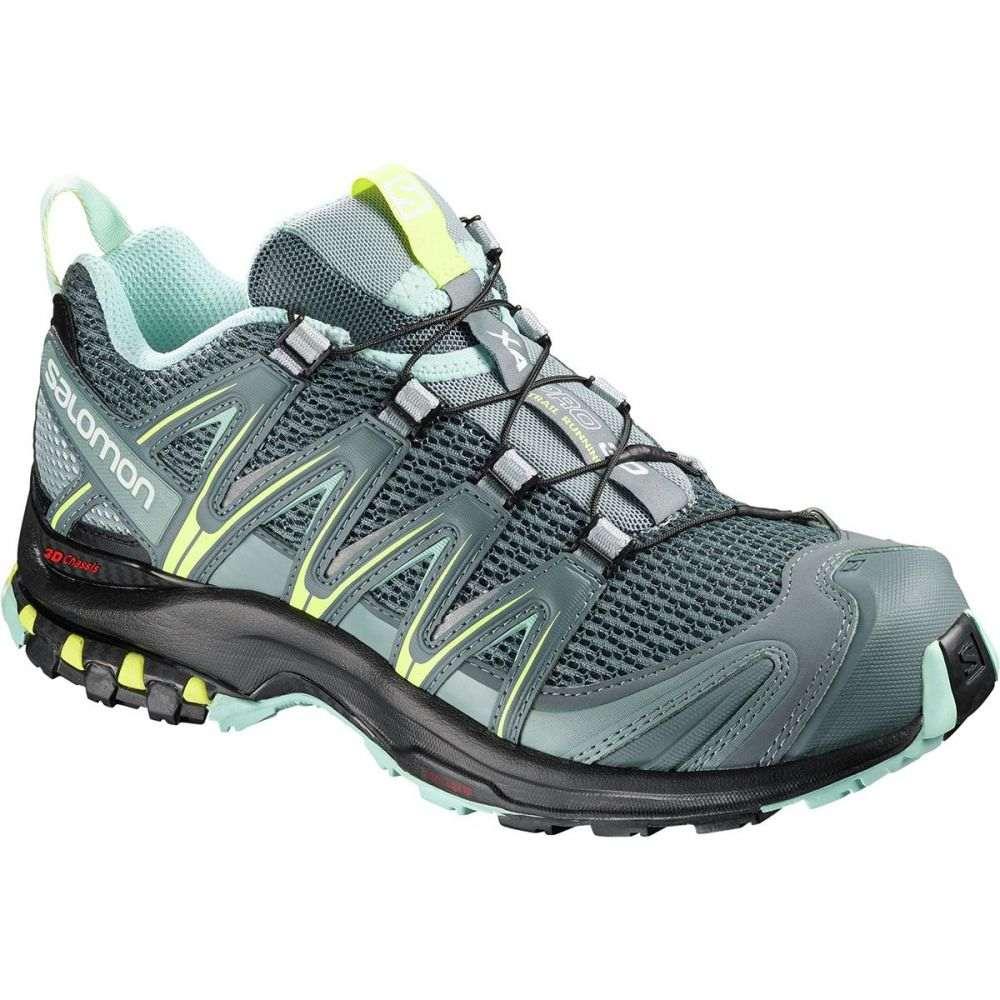 サロモン レディース ランニング・ウォーキング シューズ・靴【XA Pro 3D Running Shoe】Stormy Weather/Lead/Eggshell Blue