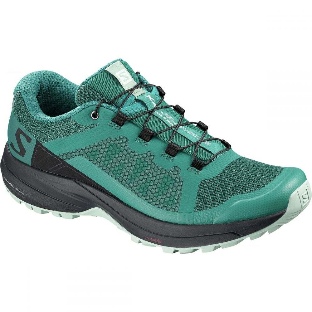 サロモン レディース ランニング・ウォーキング シューズ・靴【XA Elevate Trail Running Shoe】Deep Lake/Black/Eggshell Blue