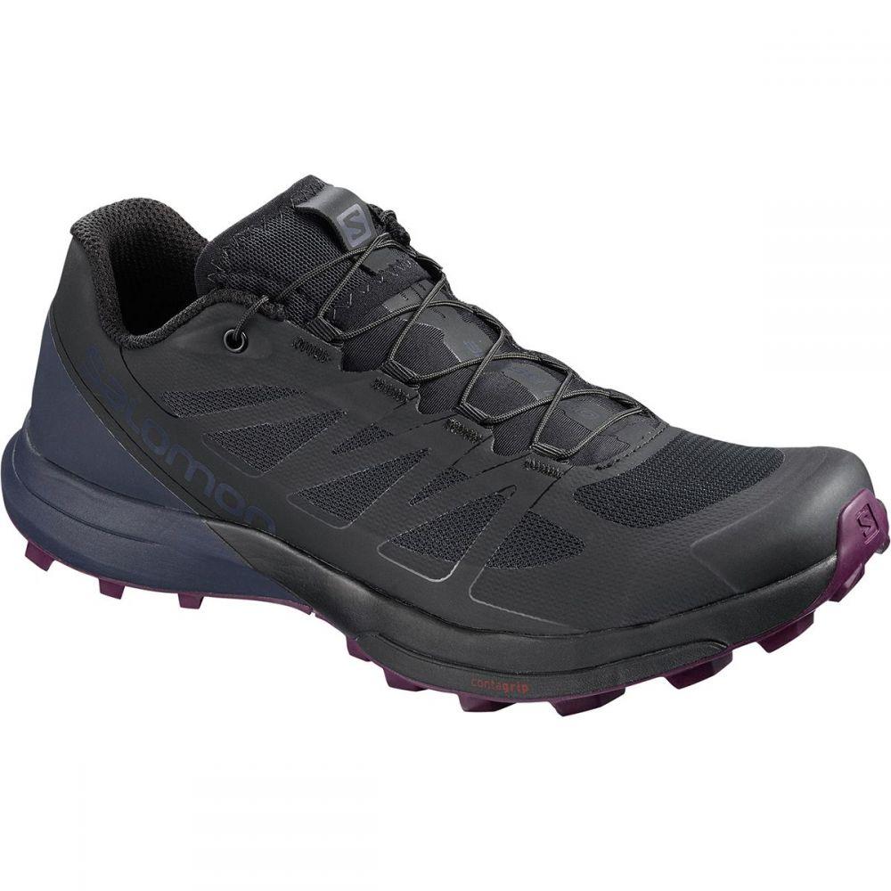 サロモン レディース ランニング・ウォーキング シューズ・靴【Sense Pro 3 Running Shoe】Black/Graphite/Potent Purple