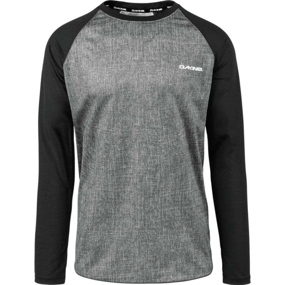 ダカイン メンズ 自転車 トップス【Dropout Jersey - Long Sleeves】Carbon/Black