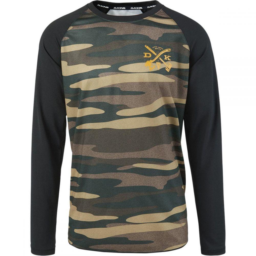 ダカイン メンズ 自転車 トップス【Dropout Jersey - Long Sleeves】Field Camo