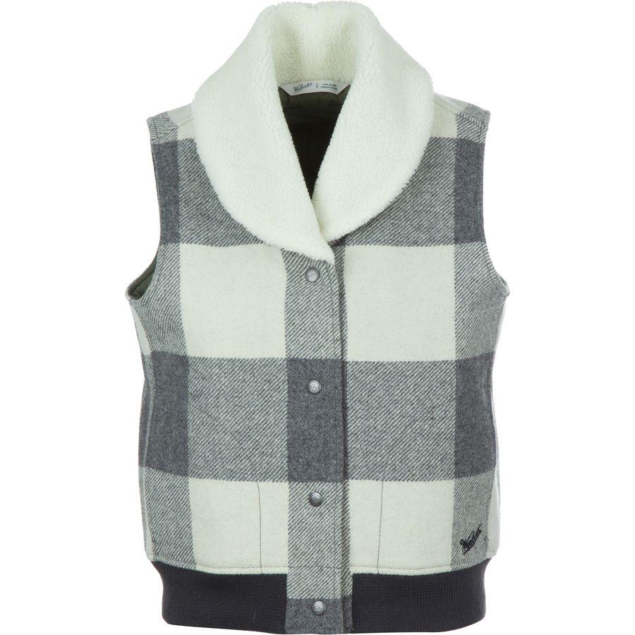 ウール リッチ Woolrich レディース アウター ベスト【Giant Buffalo Wool Vest】Wool Cream