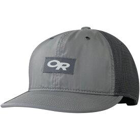 アウトドアリサーチ Outdoor Research メンズ 帽子 キャップ【Trail Performance Trucker Hats】Pewter