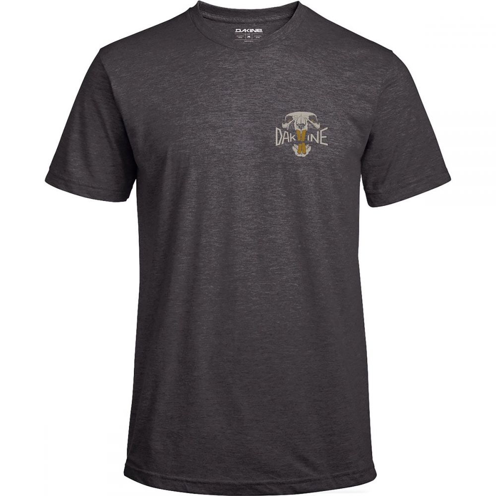 ダカイン DAKINE メンズ 自転車 トップス【Tech T - Shirts】Overbite/Heather Black