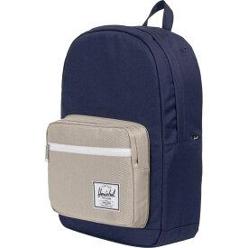ハーシェル サプライ Herschel Supply レディース バッグ バックパック・リュック【Pop Quiz 22L Backpack】Peacoat/Eucalyptus
