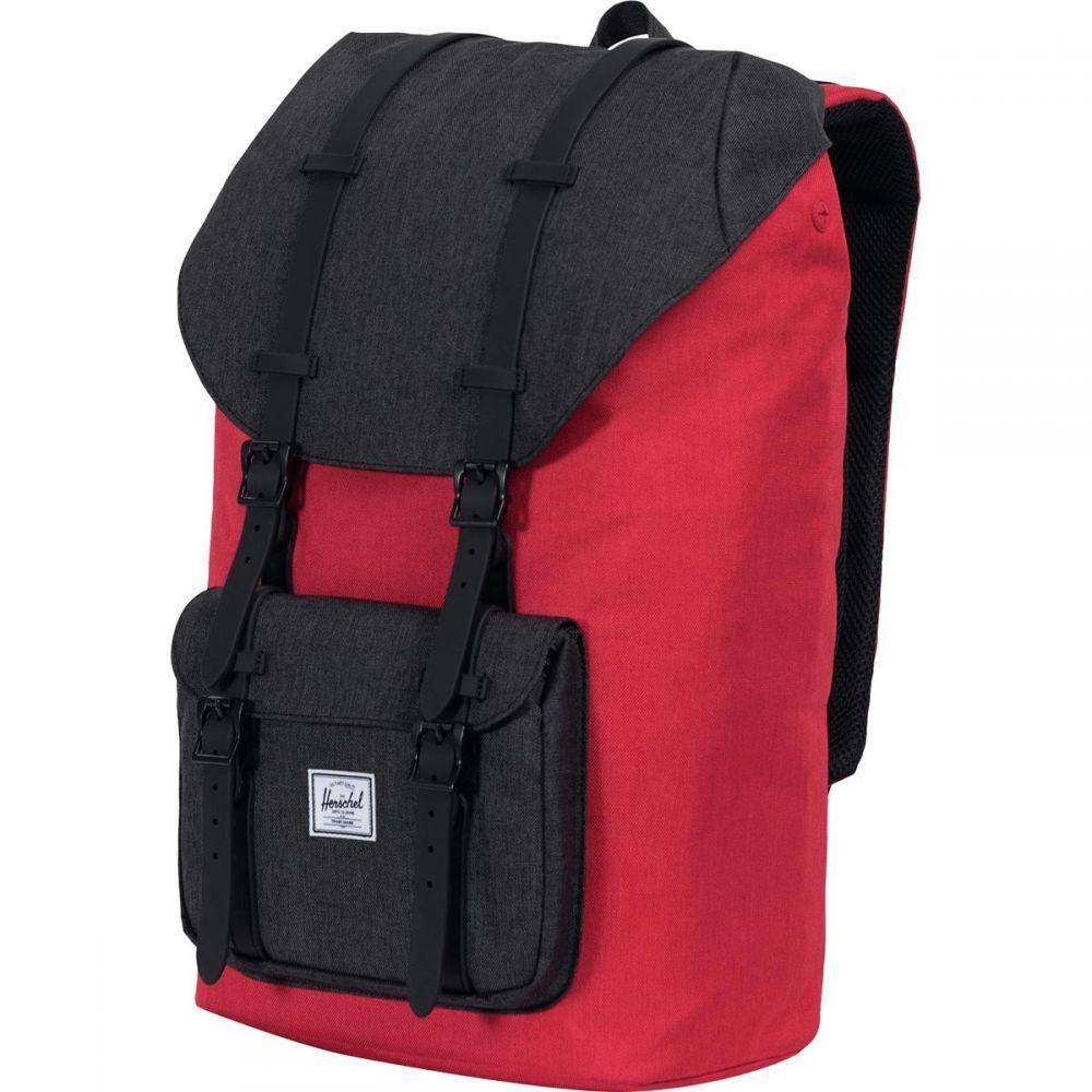 ハーシェル サプライ Herschel Supply レディース バッグ バックパック・リュック【Little America 25L Backpack】Barbados Cherry Crosshatch/Black Crosshatch