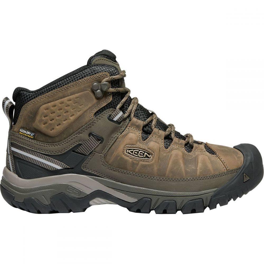 キーン KEEN メンズ ハイキング・登山 シューズ・靴【Targhee III Mid Leather Waterproof Hiking Boots】Bungee Cord/Black