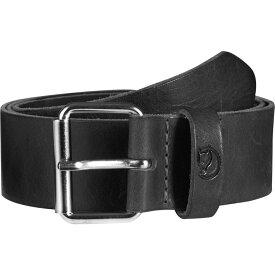 フェールラーベン Fjallraven メンズ ベルト【Singi 4cm Belts】Black