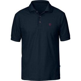 フェールラーベン Fjallraven メンズ トップス ポロシャツ【Crowley Pique Short - Sleeve Shirts】Blueblack