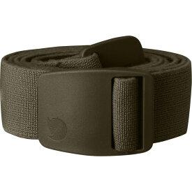 フェールラーベン Fjallraven メンズ ベルト【Keb Trekking Belts】Dark Olive