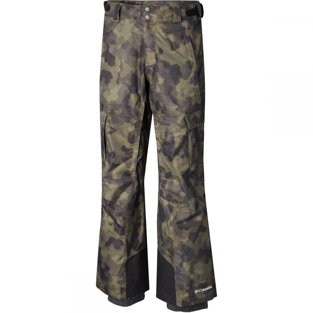 コロンビア Columbia メンズ スキー・スノーボード ボトムス・パンツ【Ridge 2 Run II Pants】Peatmoss Camo Lines Print