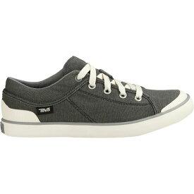 テバ Teva レディース シューズ・靴【Freewheel Washed Canvas Shoe】Black/Grey