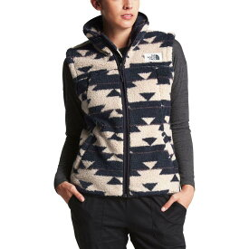 ザ ノースフェイス The North Face レディース トップス ベスト・ジレ【Campshire Fleece Vest】Peyote Beige California Basket Print