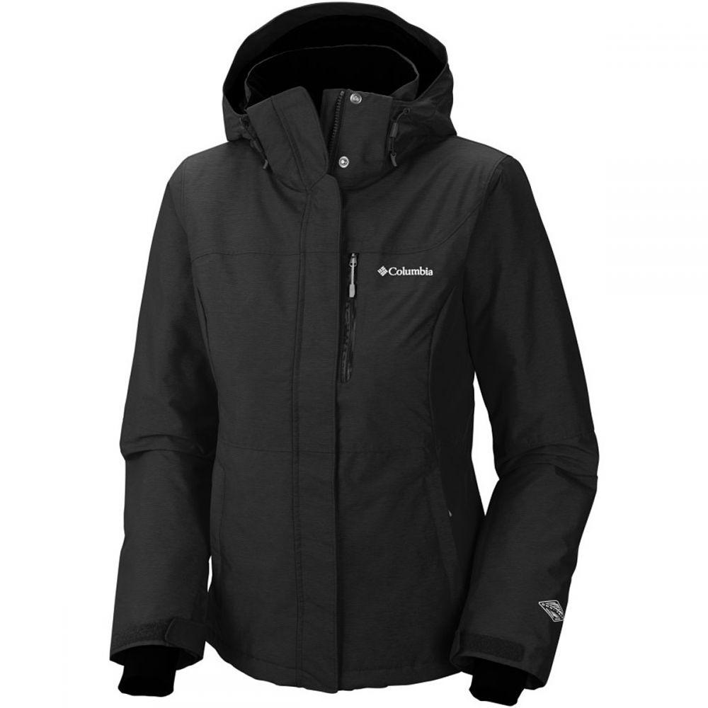 コロンビア Columbia レディース スキー・スノーボード アウター【Alpine Action Omni - Heat Hooded Jacket】Black