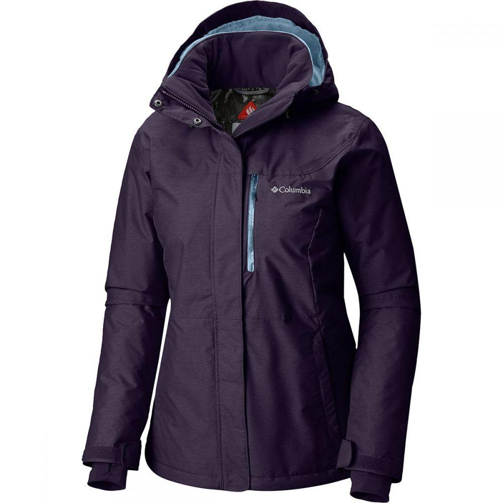 コロンビア Columbia レディース スキー・スノーボード アウター【Alpine Action Omni - Heat Hooded Jacket】Dark Plum