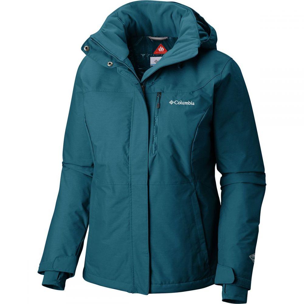 コロンビア Columbia レディース スキー・スノーボード アウター【Alpine Action Omni - Heat Hooded Jacket】Lagoon