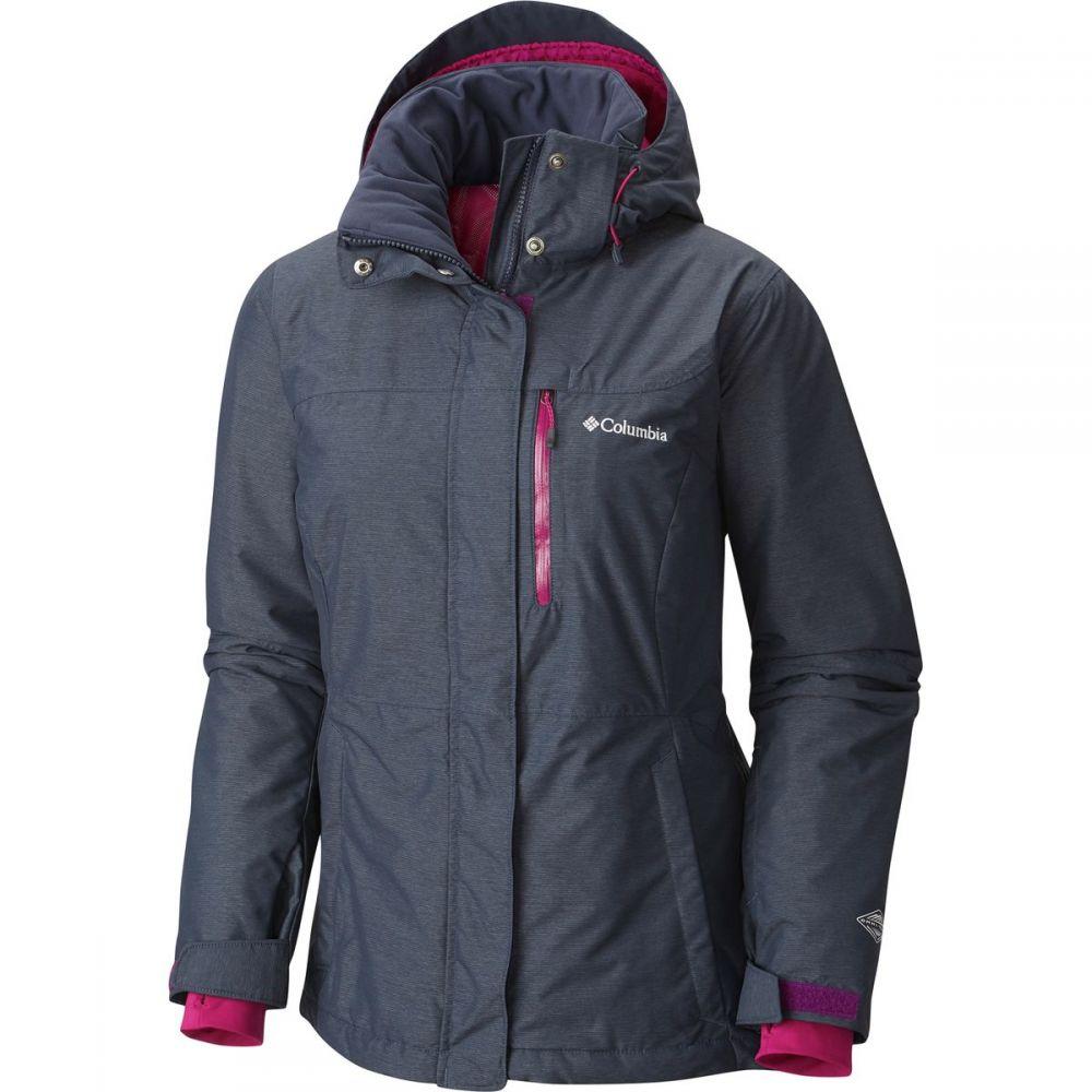 コロンビア Columbia レディース スキー・スノーボード アウター【Alpine Action Omni - Heat Hooded Jacket】Nocturnal