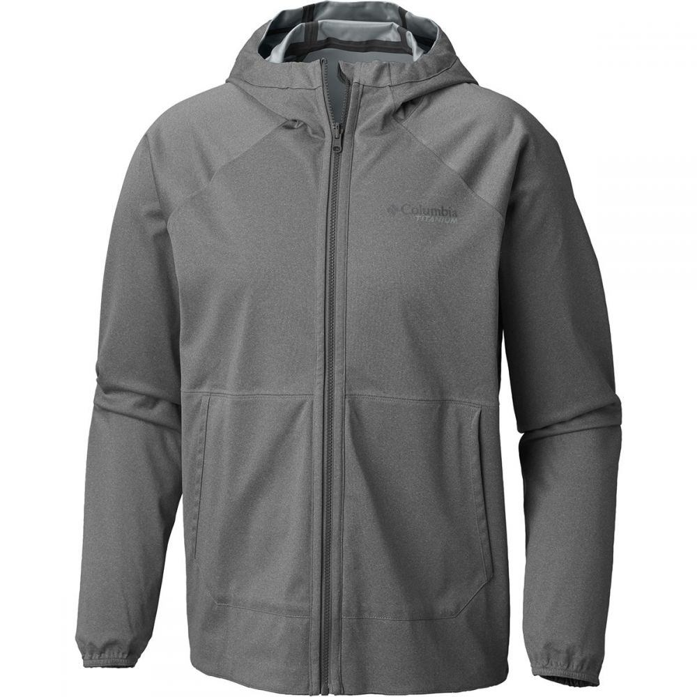 コロンビア Columbia メンズ アウター レインコート【Titanium Outdry Ex Reversible Jackets】Soft Metal