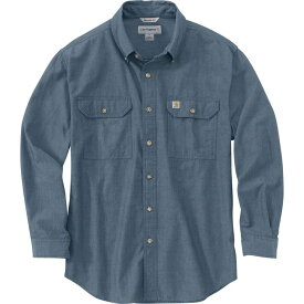 カーハート Carhartt メンズ トップス シャツ【Fort Solid Long - Sleeve Shirts】Denim Blue Chambray