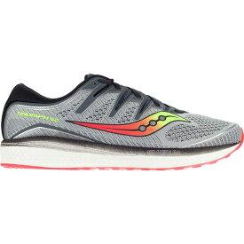 サッカニー Saucony メンズ ランニング・ウォーキング シューズ・靴【Triumph Iso 5 Running Shoes】Grey/Black