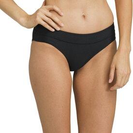 プラーナ Prana レディース 水着・ビーチウェア ボトムのみ【Ramba Bikini Bottom】Black Solid