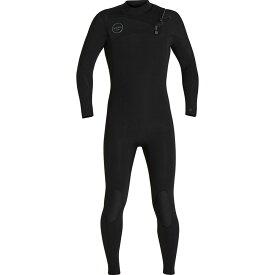 エクセル XCEL メンズ 水着・ビーチウェア ウェットスーツ【Hawaii Comp 4/3MM X TDC Wetsuits】Black W/Black Logos