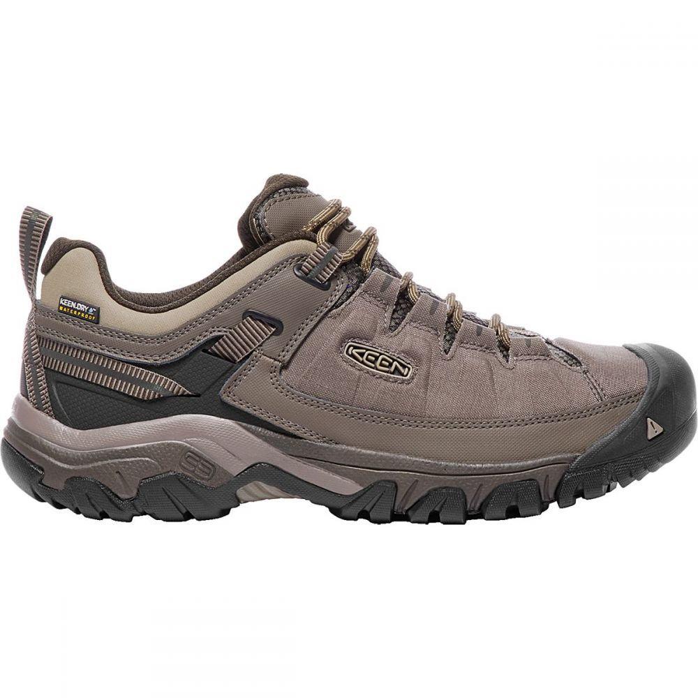 キーン KEEN メンズ ハイキング・登山 シューズ・靴【Targhee Exp Waterproof Hiking Shoes】Bungee Cord/Brindle