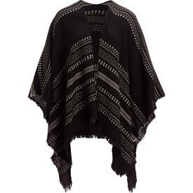 ペンドルトン Pendleton レディース マフラー・スカーフ・ストール【Serape Stripe Wrap】Black