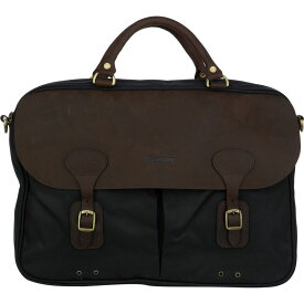バーブァー Barbour レディース バッグ【Wax Leather Briefcase】Navy