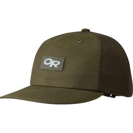 アウトドアリサーチ Outdoor Research メンズ 帽子 キャップ【Trail Performance Trucker Hats】Fatigue