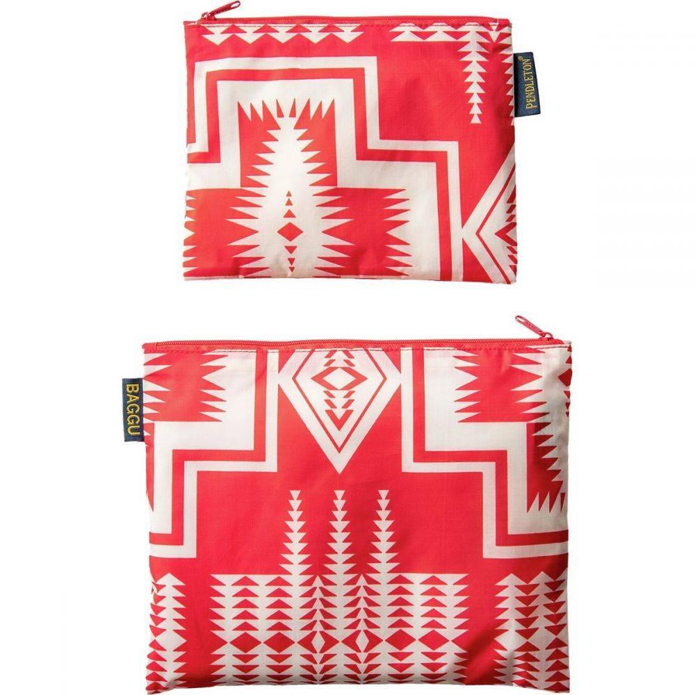 ペンドルトン Pendleton レディース 財布【Zip Pouch - 2 Pack】Harding Red