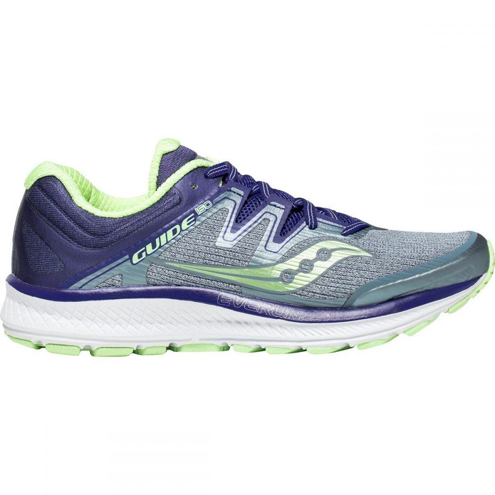 サッカニー Saucony レディース ランニング・ウォーキング シューズ・靴【Guide Iso Running Shoe】Fog/Purple/Mint