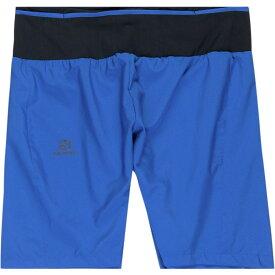 サロモン Salomon メンズ ボトムス・パンツ ショートパンツ【Trail Runner Twinskin Shorts】Nautical Blue