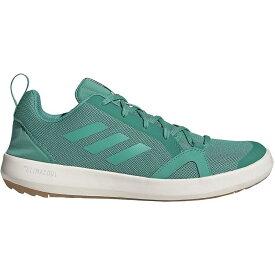 アディダス Adidas Outdoor メンズ シューズ・靴 ウォーターシューズ【Terrex CC Boat Water Shoes】True Green/True Green/Chalk White