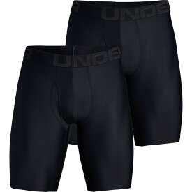 アンダーアーマー Under Armour メンズ インナー・下着【Tech 9in Underwear - 2 - Packs】Black/Black