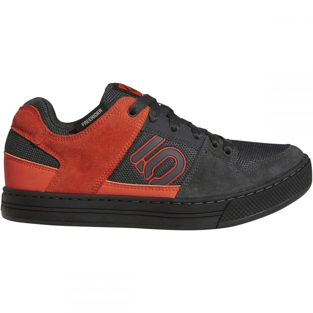 ファイブテン Five Ten メンズ 自転車 シューズ・靴【Freerider Cycling Shoes】Carbon/Active Orange/Grey Five
