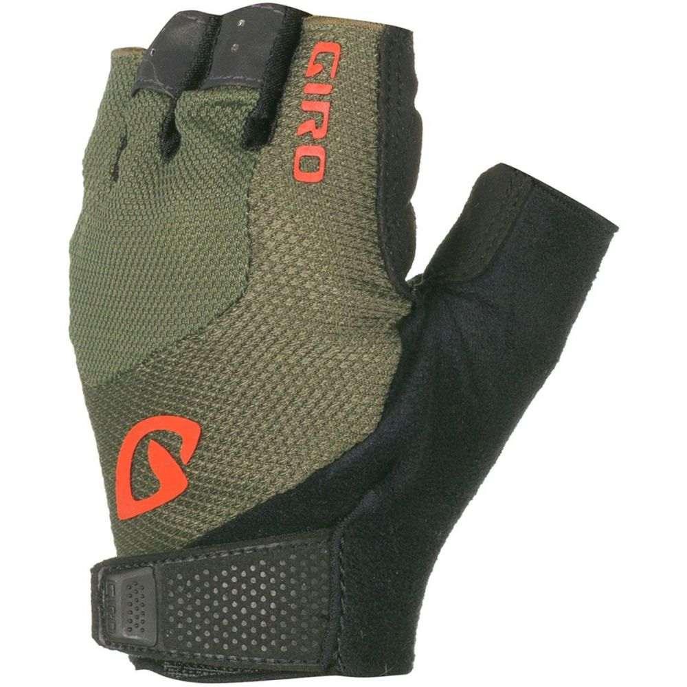 ジロ Giro メンズ 自転車 グローブ【Bravo Gel Studio Collection Gloves】Olive/Deep Orange