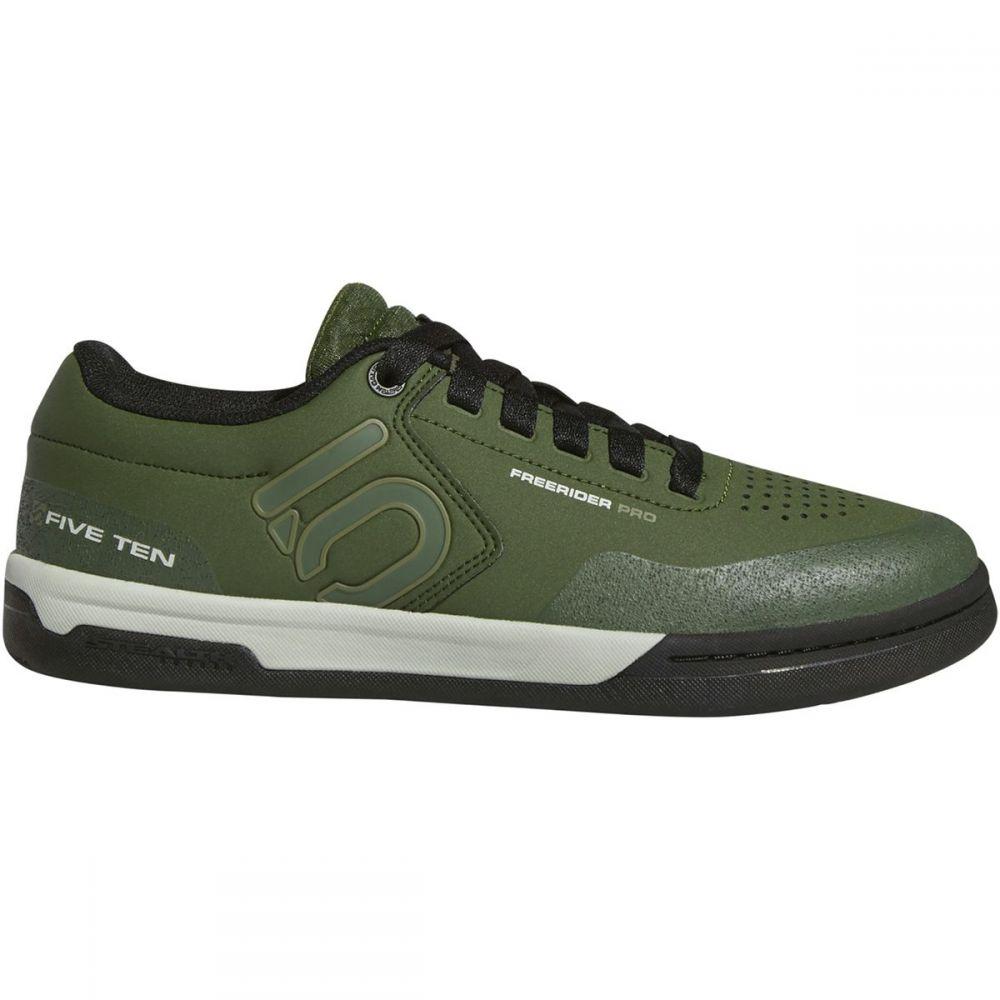 ファイブテン Five Ten メンズ 自転車 シューズ・靴【Freerider Pro Cycling Shoes】Strong Olive/Raw Khaki/Ash Silver