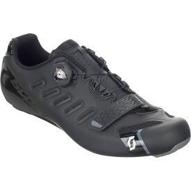 スコット Scott メンズ 自転車 シューズ・靴【Road Team BOA Cycling Shoes】Matte Black/Gloss Black