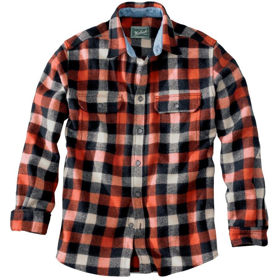 ウール リッチ Woolrich メンズ トップス ネルシャツ【Wool Buffalo Flannel Shirt】Red/White/Black Plaid