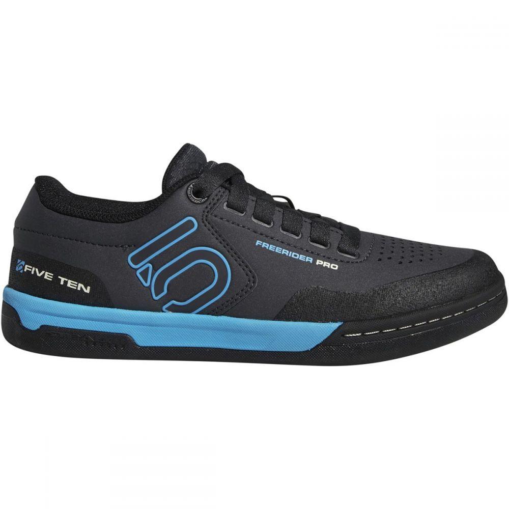 ファイブテン Five Ten レディース 自転車 シューズ・靴【Freerider Pro Cycling Shoe】Carbon/Shock Cyan/Black