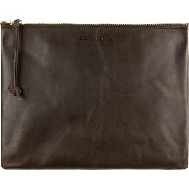 フィルソン Filson レディース ポーチ【Leather Pouch - Large】Brown