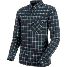 マムート Mammut メンズ トップス シャツ【Belluno Tour Long - Sleeve Shirts】Black/Marine