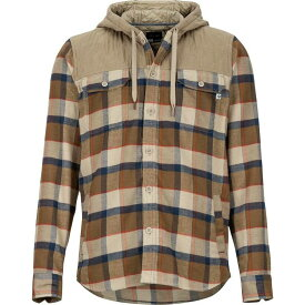 マーモット Marmot メンズ トップス シャツ【Silos Heavyweight Flannels】Desert Khaki/Dark Khaki