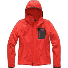 ザ ノースフェイス The North Face メンズ トップス フリース【Borod Hooded Fleece Jackets】Fiery Red/Asphalt Grey