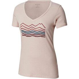 コロンビア Columbia レディース トップス Tシャツ【Sandy River II T - Shirt】Mineral Pink Heather