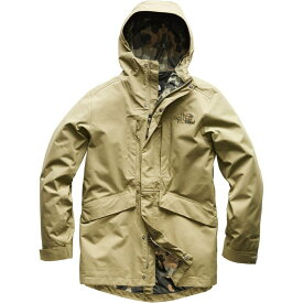 ザ ノースフェイス The North Face メンズ アウター レインコート【El Misti Trench IIs】Tumbleweed Green/New Taupe Green Macrofleck Print